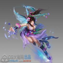 (大师网)中国风仙侠傲世PSD素材