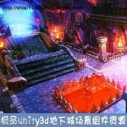 游戏美术资源unity3d地下城地牢手游场景Tiny Dungeons 模型组件