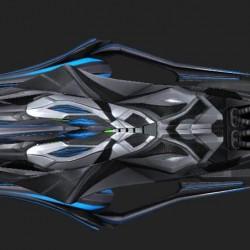 免费下载高科技科幻的太空飞船cg模型