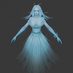 四个灵魂 亡灵3D模型