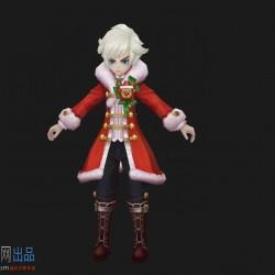 圣诞节日套装,男主节日换装,麋鹿角,可爱的男孩子,男生角色
