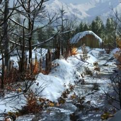影视级别雪景-雪后清晨