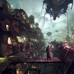 科幻题材外星殖民-高质量CG场景模型