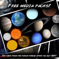 行星 星系 恒星 星云 Space Graphics Toolkit 3.3.9