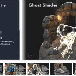 Ghost Shaders 鬼魂 隐身 效果