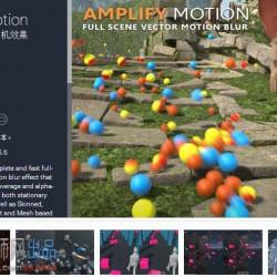 移动残影特效 Amplify Motion 1.8.3