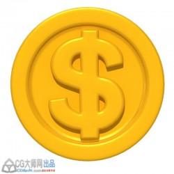 高品质金币一枚