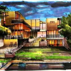 超豪华三件套:建筑手绘+景观手绘+城规手绘教程