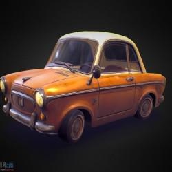 Q版 写实卡通 汽车 高质量 次时代 次世代 轿车 游戏 低模 车辆 交通 工具 ar vr