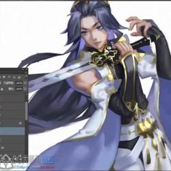 日式CG原画插画教程饭糕94课程,日系课程