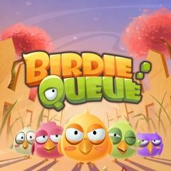 排队小鸟 Q版可爱游戏UI界面PSD分层