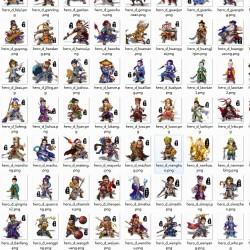 【30大师币】三国游戏全资源35款热门三国游戏美术素材