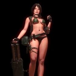 国外大神级3D次世代角色模型素材 第一弹