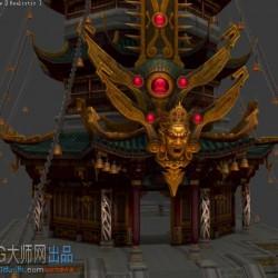 游戏全套场景资源 圣斗星矢3D全套场景资源