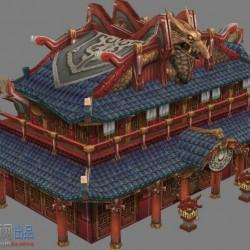 轩辕传奇3D全套场景模型