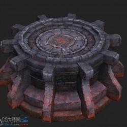 分享一套场景资源——朱雀神殿