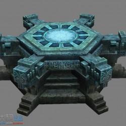 分享一套场景资源——玄武神殿