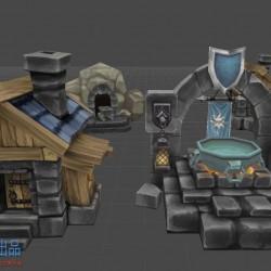 全套精品 兽族、人族对战塔防游戏来袭,类似英雄联盟,可用于手游