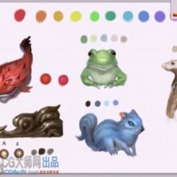 cg原画插画设计完整原画教程一套陈战