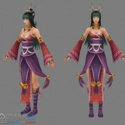 七剑模型资源带动画