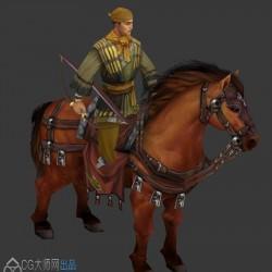 游戏全套角色动作资源 兵锋天下模型下载带动作纯净版