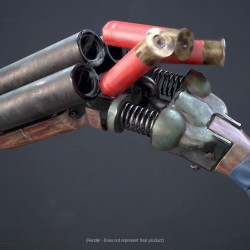 【3D枪械设计】瑞典硬表面武器艺术家Stefan Engdahl 188P