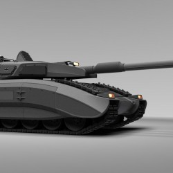 超酷豹3概念坦克高精模型
