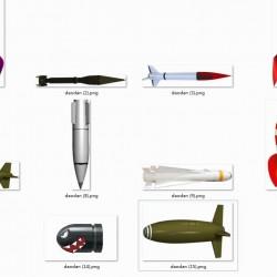 帅气的高清的子弹导弹