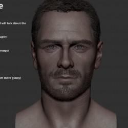刺客信条超帅模型,包括ZBrush带贴图的高模文件,UE4工程文件,以及SP源文件