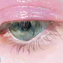 【原画ps板绘过程】这么好看的的眼睛居然是画出来的?(一个假的眼妆教程)