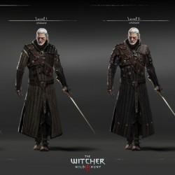 欧美次时代【巫师3:狂猎】主角模型