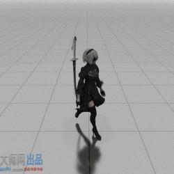 2B walk_v2.0,附赠简单渲染效果说明