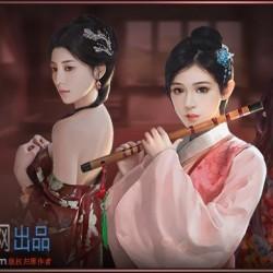H5手游宫斗养成类手游极品芝麻官全套2d美术资源