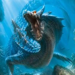 CG龙类生物 怪物参考 游戏原画 造型 资源包 画集图集 怪兽素材