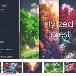 卡通四季场景Stylized Forest Environment 2.0