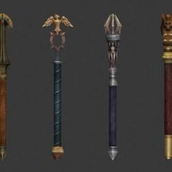 TERA全套武器之短槌3D模型下载