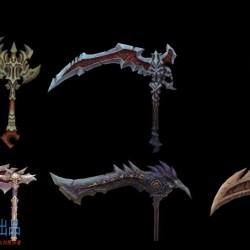 暗黑血统2武器合集(109M)
