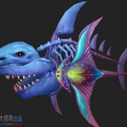 宠物_鲨鱼-神魔系列免费下载