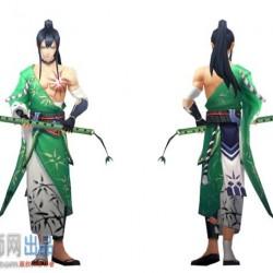 式神 万年竹max模型