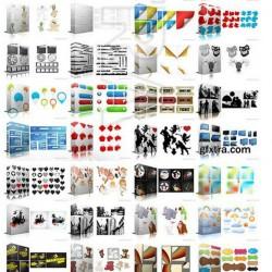 1200张平面矢量应用图形合辑素材