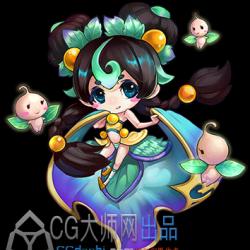 中国仙侠风格人物立绘189张 有仙气 游戏CG素材 角色原画