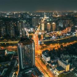 带你鸟瞰中国(183张中国城市全景)