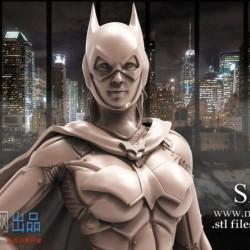 【精品模型】蝙蝠女3d打印模式 精品模型