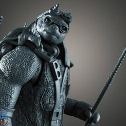 CG模型资源忍者神龟模型TMNT 4英雄(Diorama) - 3D可打印套件