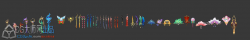 3d手游苍穹の剑--超强古风精品3d主角模型带法线高模怪物坐骑宠物法宝NPC