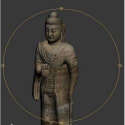 敦煌莫高窟佛像3d模型