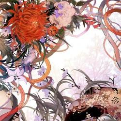 二次元动漫美少女和风太刀少女服装图片集日系卡通