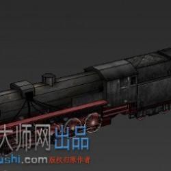 (写实)(低模)蒸汽火车头