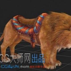 狮子3d模型