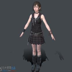 最终幻想15 伊莉斯人物模型